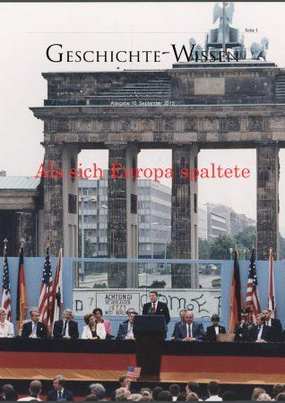 Ausgabe: Als Europa sich spaltete