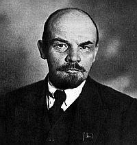 Der russische Revolutionär Wladimir Iljitsch Uljanow