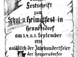 Festschrift Hennersdorf