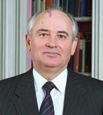 Der ehemalige Staatspräsident Michail Gorbatschow