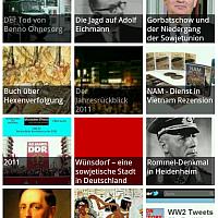 Geschichte-Wissen als Handy-App