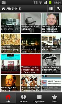 Die Geschichte-Wissen Android App