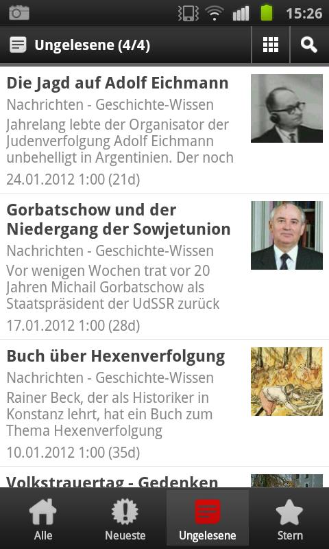 Nachrichten App