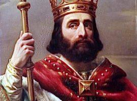 Pippin der Jüngere, der erste König der Karolinger