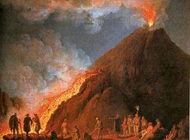Der Vesuv und seine Umgebung