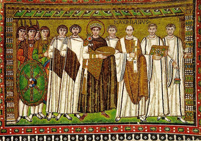 Justinian mosaik ravenna