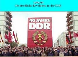 "Vorstellung des Buches ""Die Friedliche Revolution in der DDR"""