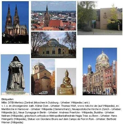 Bild 2 - Religionen