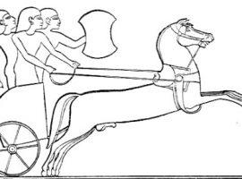 Pferde und Streitwagen in Griechenland und dem Alten Orient