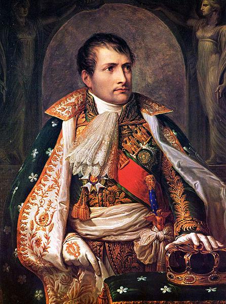 Napoleon als Koenig von Italien