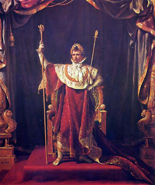 Potrait von Napoleon als Kaiser