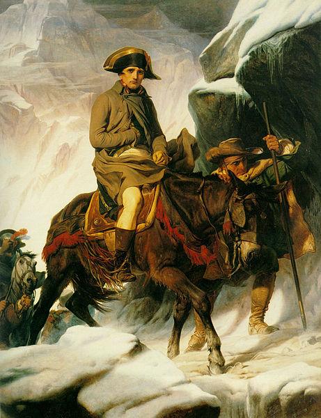 Ueberquerung der Alpen