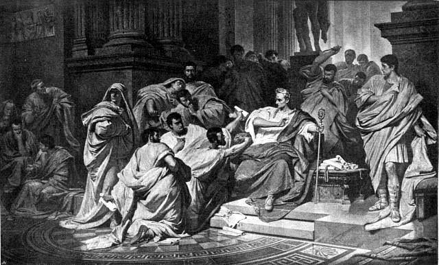 Die Ermordung Caesars