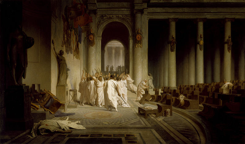 Senatoren nach Caesars Ermordung