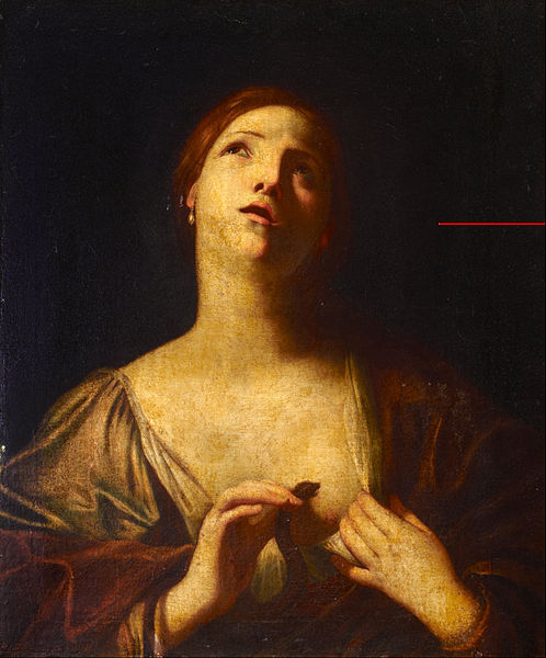 Cagnacci Guido - Cleopatra - Google Art Project