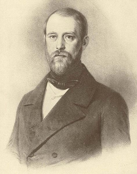 Bismarck 1847 als Landtagsabgeordneter