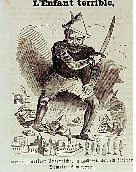 Bismarck als Stadtzerstoerer