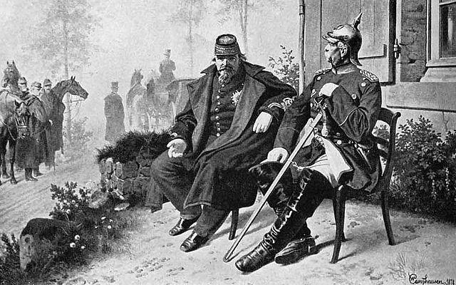 Bismarck und Napoleon III