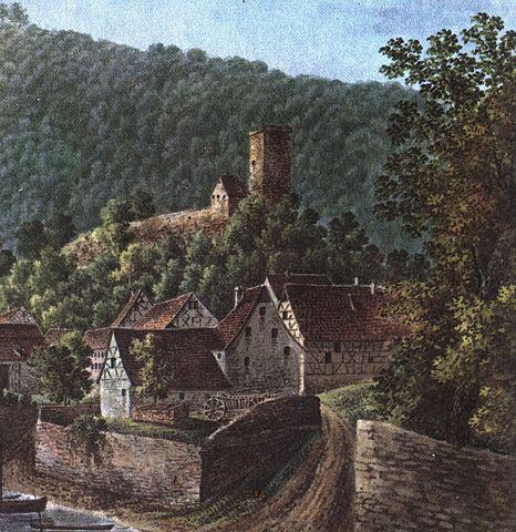 466px-Neckarsteinach Fohr Vorderburg
