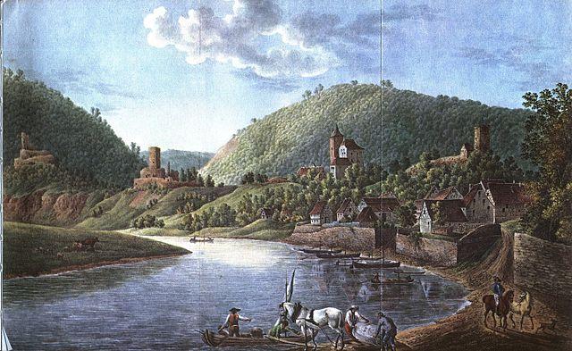 640px-Neckarsteinach 4 Burgen