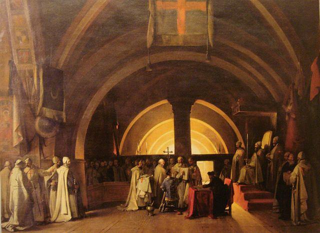 Vereidigung von Jacques de Molay