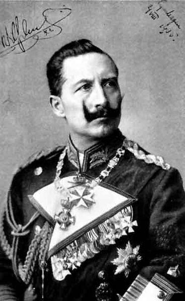 Der Kaiser im Jahr 1905