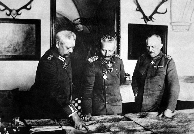 Hindenburg der Kaiser und Ludendorff