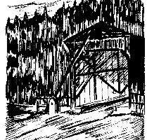 Die Zschopaubrücke in Hennersdorf