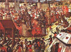 Belagerungstechniken des Mittelalters: Leitern