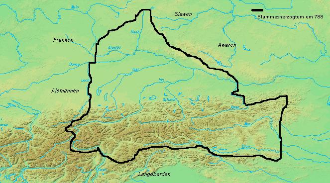 Bayern um 788