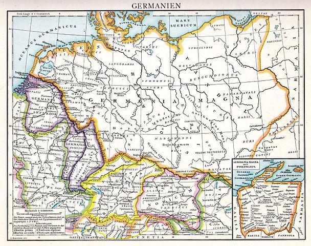 Droysens Hist Handatlas S17 Germanien