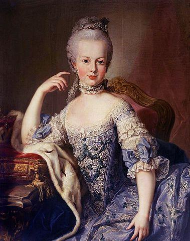 Marie Antoinette als Kind
