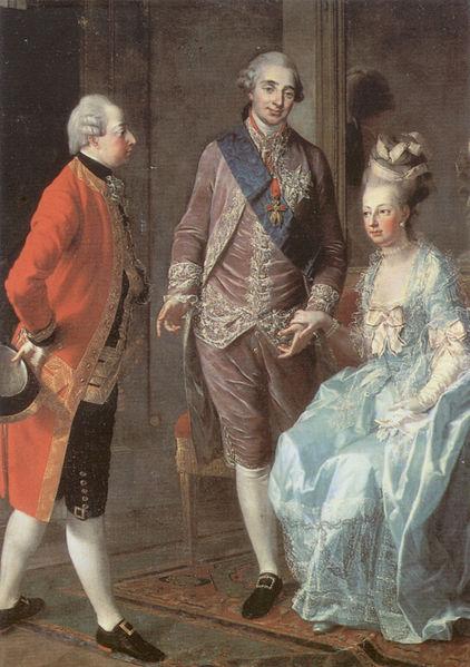 Mit ihrem Ehemann