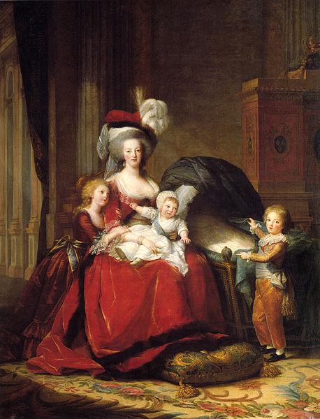 Mit ihren Kindern