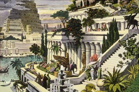 Hängende Gärten von Babylon