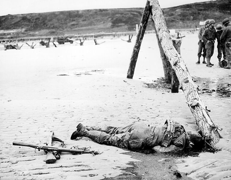 Getoeteter Soldat