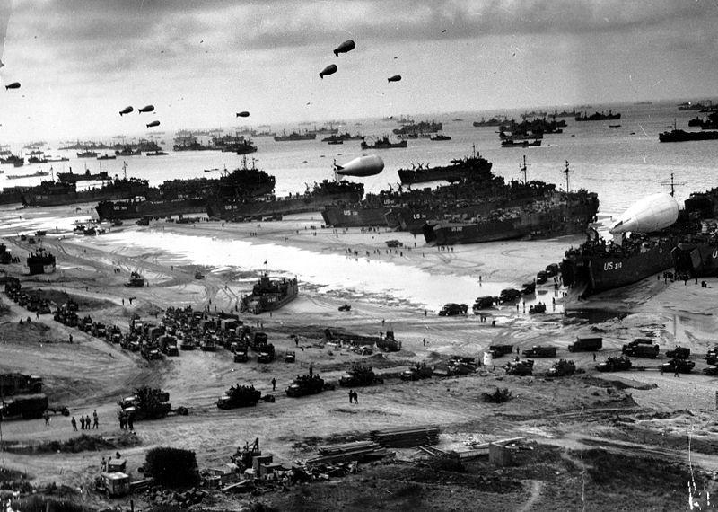 US Truppen bei der Invasion