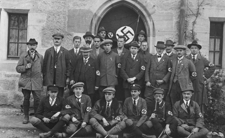Eine Delegation der NSDAP