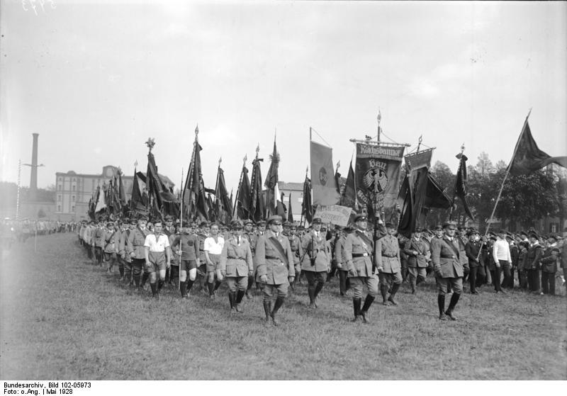 Das Reichsbanner war eine paramilitärische Abteilung