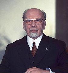 Walter Ulbricht, Vorsitzender des Staatsrates der DDR