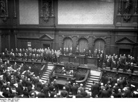 Die wichtigsten Parteien in der Weimarer Republik