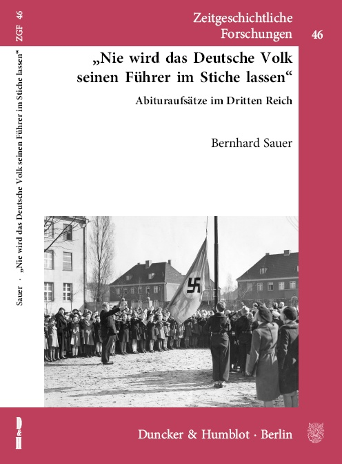 Buch Abituraufsätze im Dritten Reich Cover
