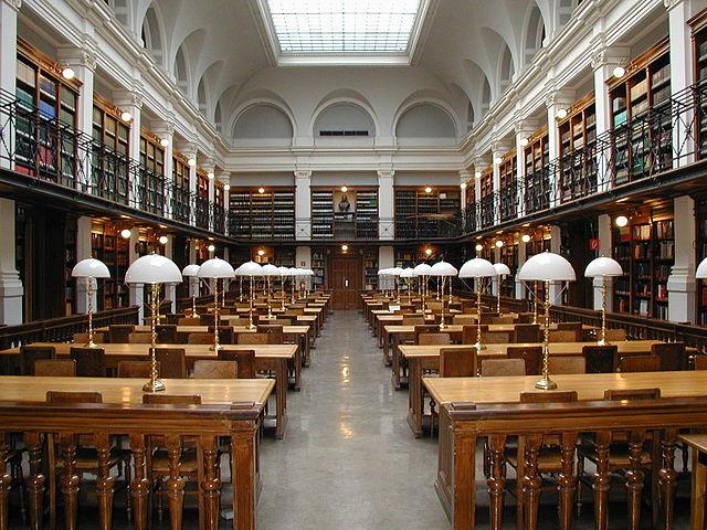 Der Lesesaal der Universität von Graz