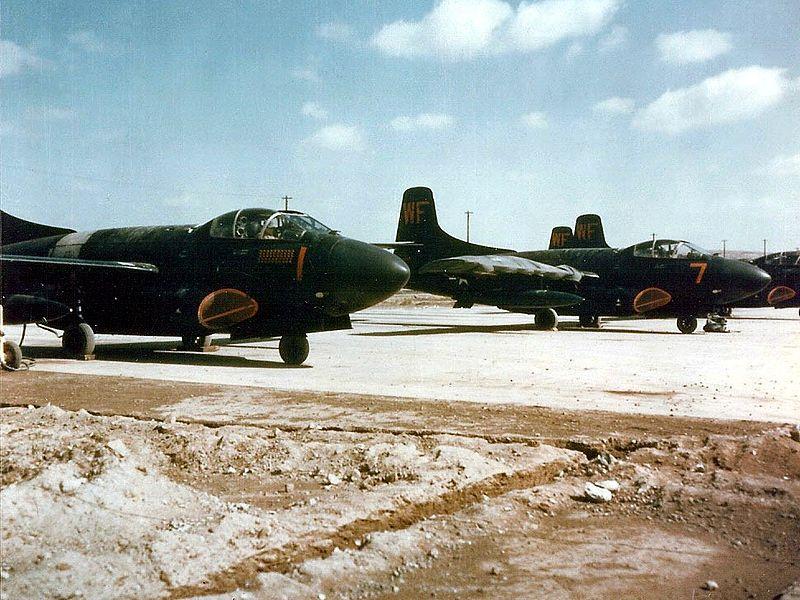 F3D-2 VMFN-513 Kunsan 1953