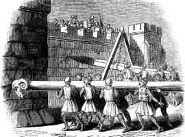 Belagerungstechniken des Mittelalters: Der Rammbock