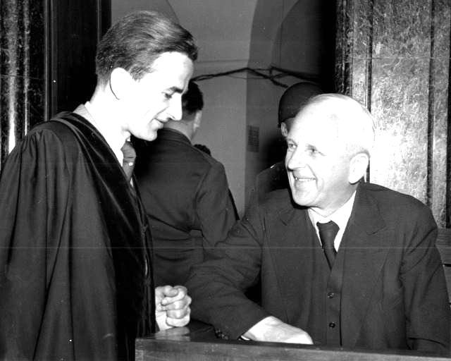 Ernst von Weizsäcker mit seinem Sohn Richard