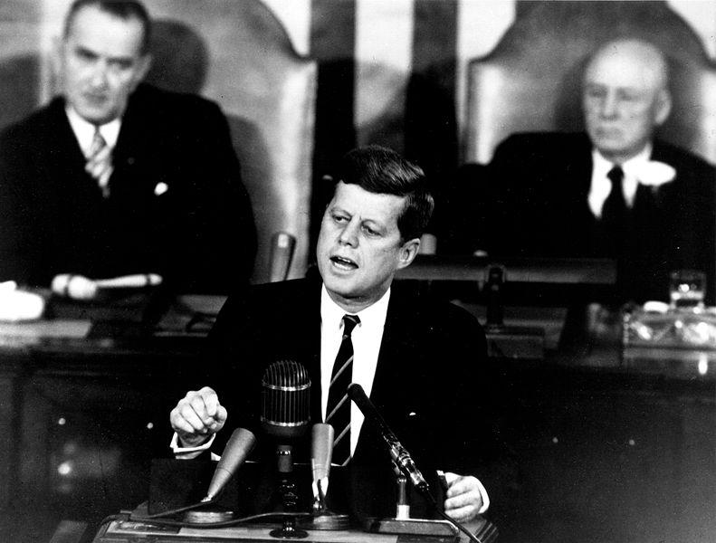 Kennedy-im-Kongress