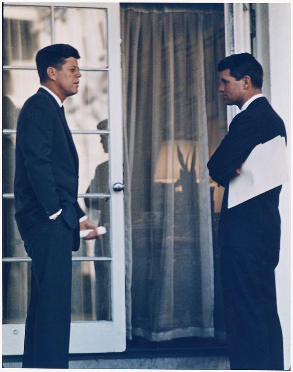 Kennedy-mit-Bruder-Robert