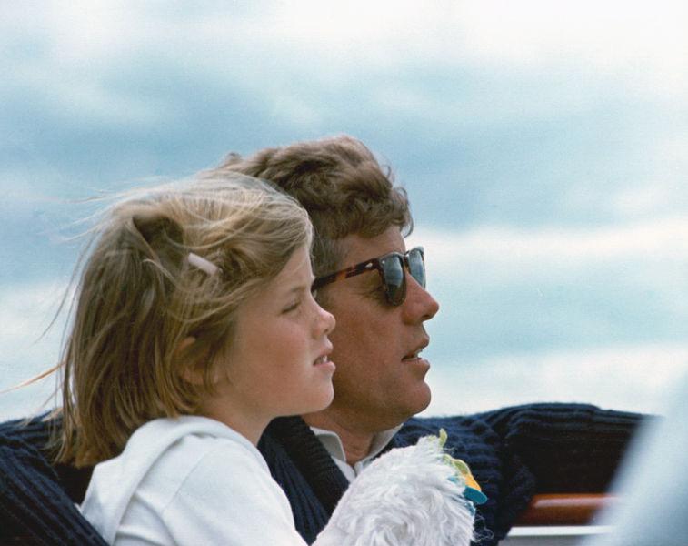 Kennedy-mit-Tochter