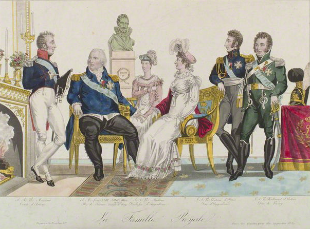 Die französische Königsfamilie